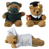 Doctor, Graduation or Sleeping Teddy Bear Cuddly Soft Plush Toy